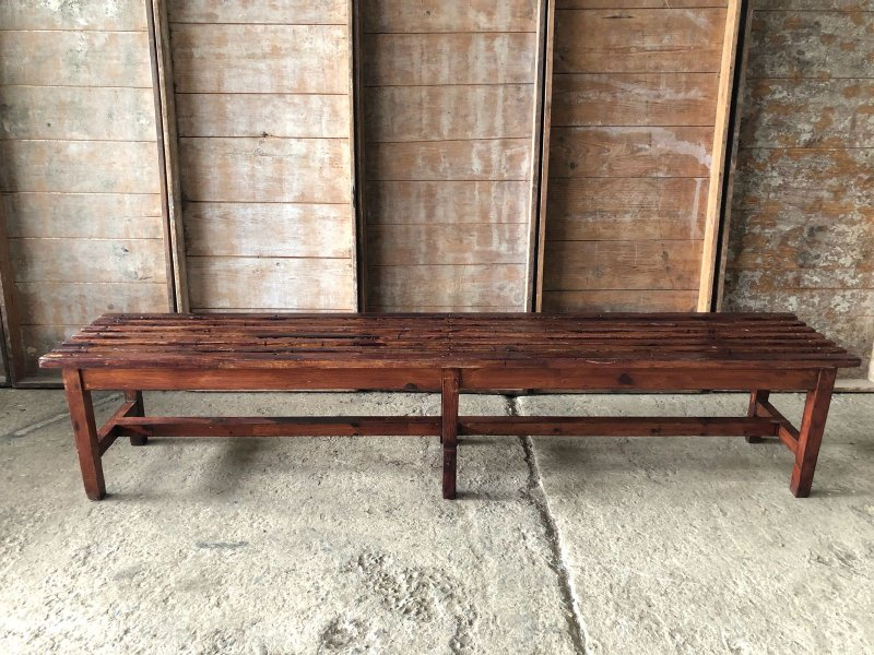 Ref. 899 | English gym bench