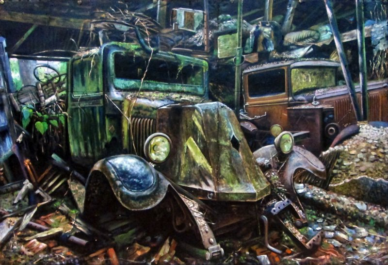 Ref. 758 | Rusted cars