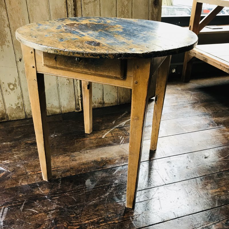 Ref. 1818 | Patina round table